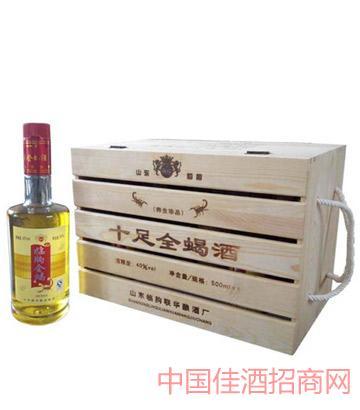 全蝎酒350mlX6-木盒