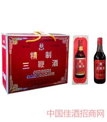 强裕三鞭酒500mlX4瓶
