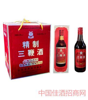 强裕三鞭酒500mlX6瓶