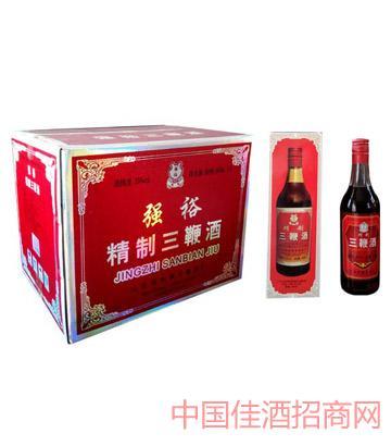 强裕三鞭酒500mlX12瓶