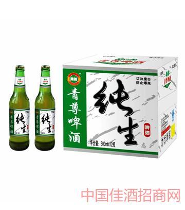 青尊�生啤酒500-12系列