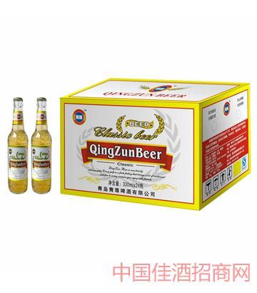 青尊白啤330-24系列啤酒