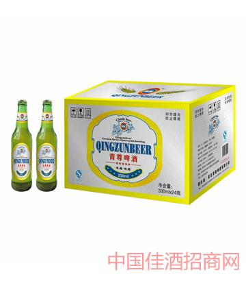 青尊低糖低醇330-24系列啤酒