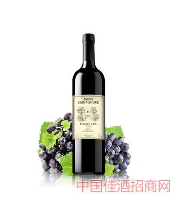 金爵西拉红葡萄酒