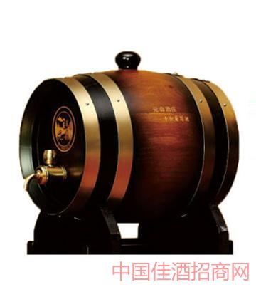 5l橡木桶干红葡萄酒