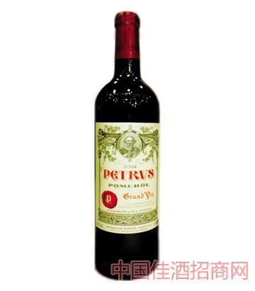 柏图斯2004Chateau petrus葡萄酒