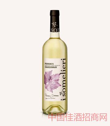 枫叶皮埃蒙特莎当妮DOC葡萄酒