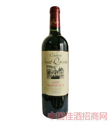 圣康坦堡干红葡萄酒