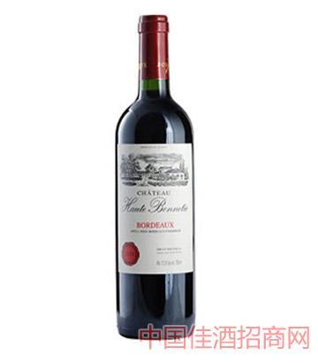 邦尼城堡干红葡萄酒