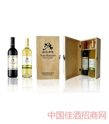 坦雷特庄园双支木盒装葡萄酒