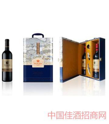 裕玛皮盒装葡萄酒