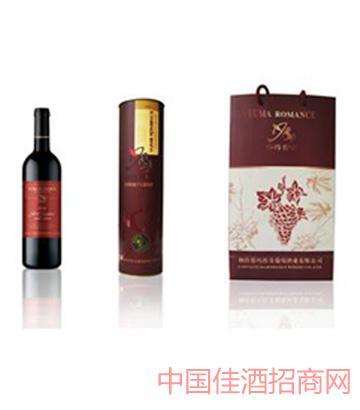 庄园陈酿单支筒礼盒葡萄酒