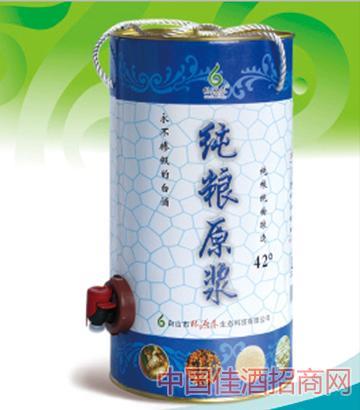林源春42%VOL纯粮原浆酒