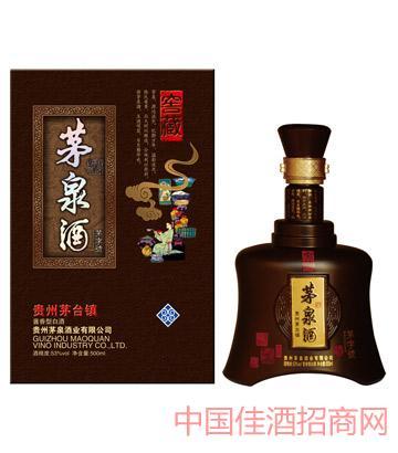 茅泉窖藏茅字号酒