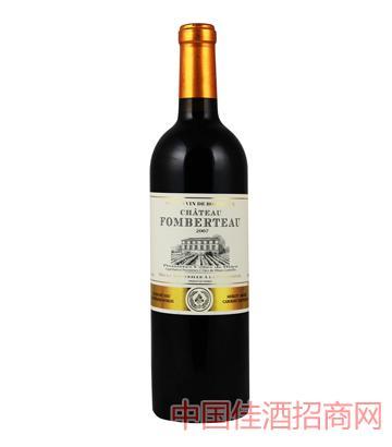 枫博酒庄老树特酿葡萄酒