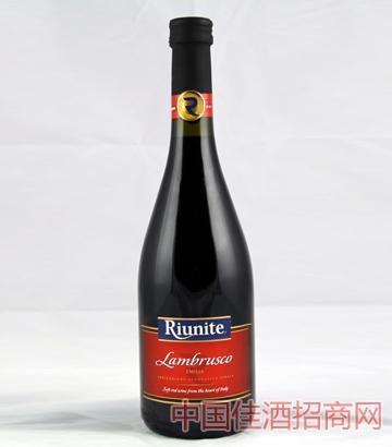 兰布鲁斯科低泡红葡萄酒