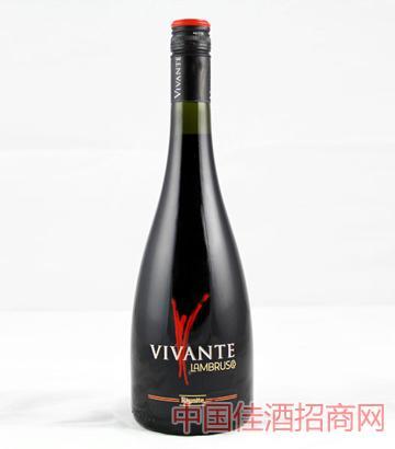 V标兰布鲁斯科低泡红葡萄酒