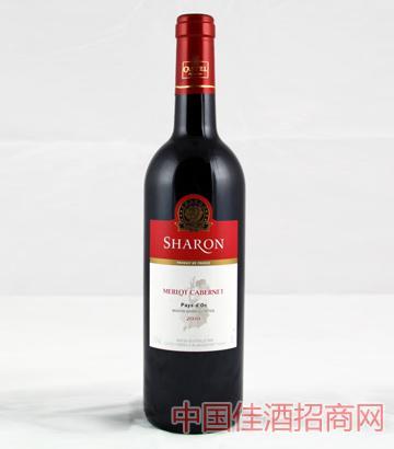 沙仑美乐赤霞珠干红葡萄酒