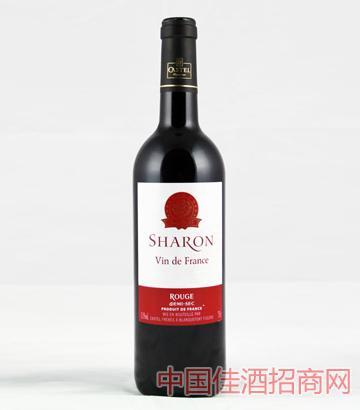 沙仑精选红葡萄酒