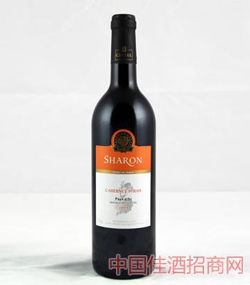 沙仑赤霞珠西拉干红葡萄酒