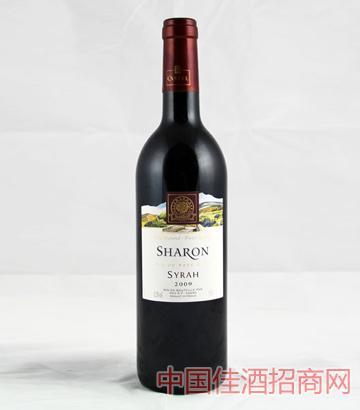 沙仑特选西拉干红葡萄酒