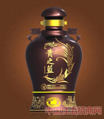 贵之蓝2.5L坛酒