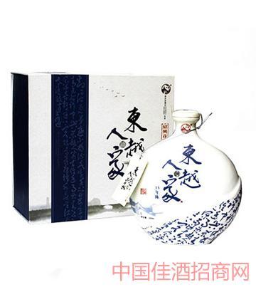 东越人家十五年陈绍兴花雕酒500ml