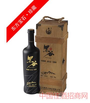12度珍藏紫酿(木盒)黑谷酒