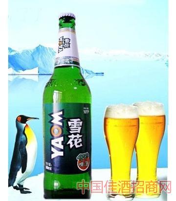 雪苑系列600ml啤酒