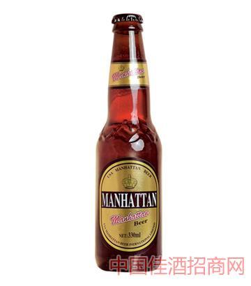 棕瓶曼哈顿(园标)啤酒