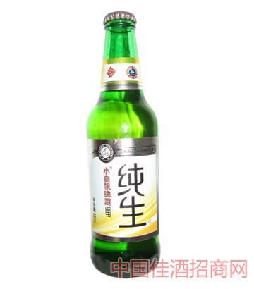 绿纯生啤酒