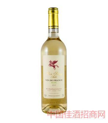 飞马庄白尤尼干白葡萄酒