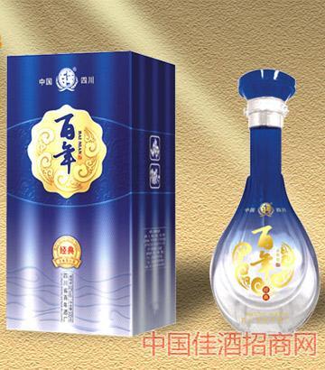 百年经典(蓝)42%浓香型酒