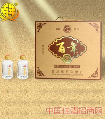 百年经典礼盒46%酒