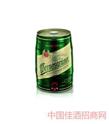 万奈仕Wernesgruner黄啤5L啤酒