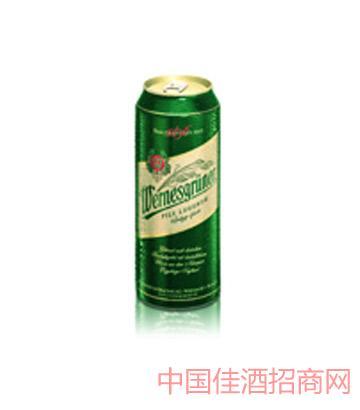 万奈仕Wernesgruner黄啤500ML啤酒