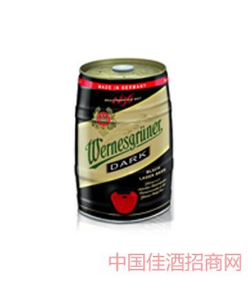 万奈仕Wernesgruner黑啤5L啤酒
