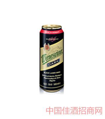万奈仕Wernesgruner黑啤500ML啤酒
