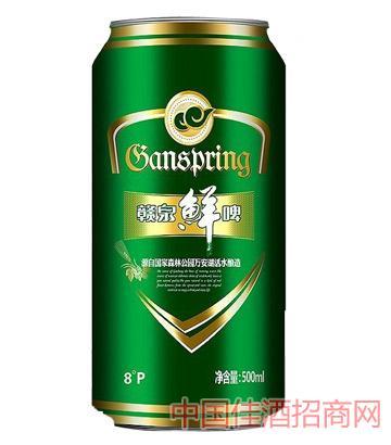 赣泉鲜啤10度500ml啤酒