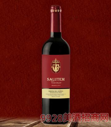 萨卢特陈酿红葡萄酒