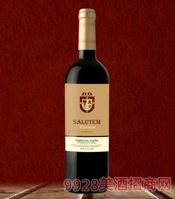 萨卢特橡木红葡萄酒
