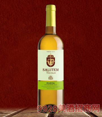 萨卢特干白葡萄酒