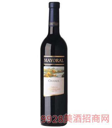 嘉希雅曼丽连陈酿干红葡萄酒