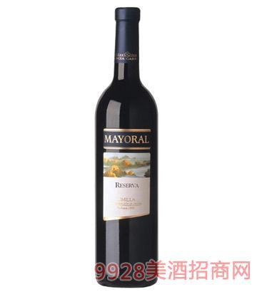 嘉希雅曼丽连珍藏干红葡萄酒