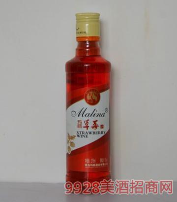 玛丽275ml草莓果酒(圆柱瓶)