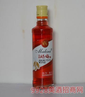 玛丽275ml杨梅果酒(圆柱瓶)