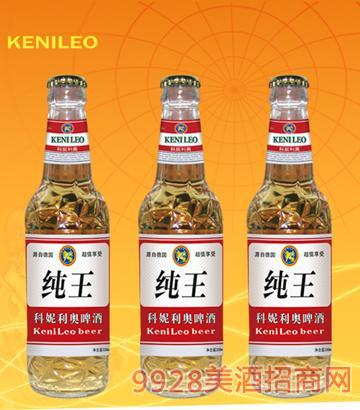 科妮利奥啤酒-KN013-红纯王白瓶330ml