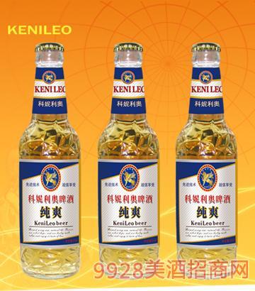 科妮利奥啤酒-KN003-纯爽白瓶500ml