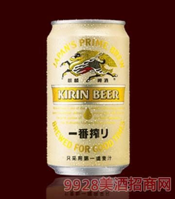 麒麟一番榨啤酒罐装