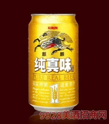 麒麟纯真味(罐装)啤酒